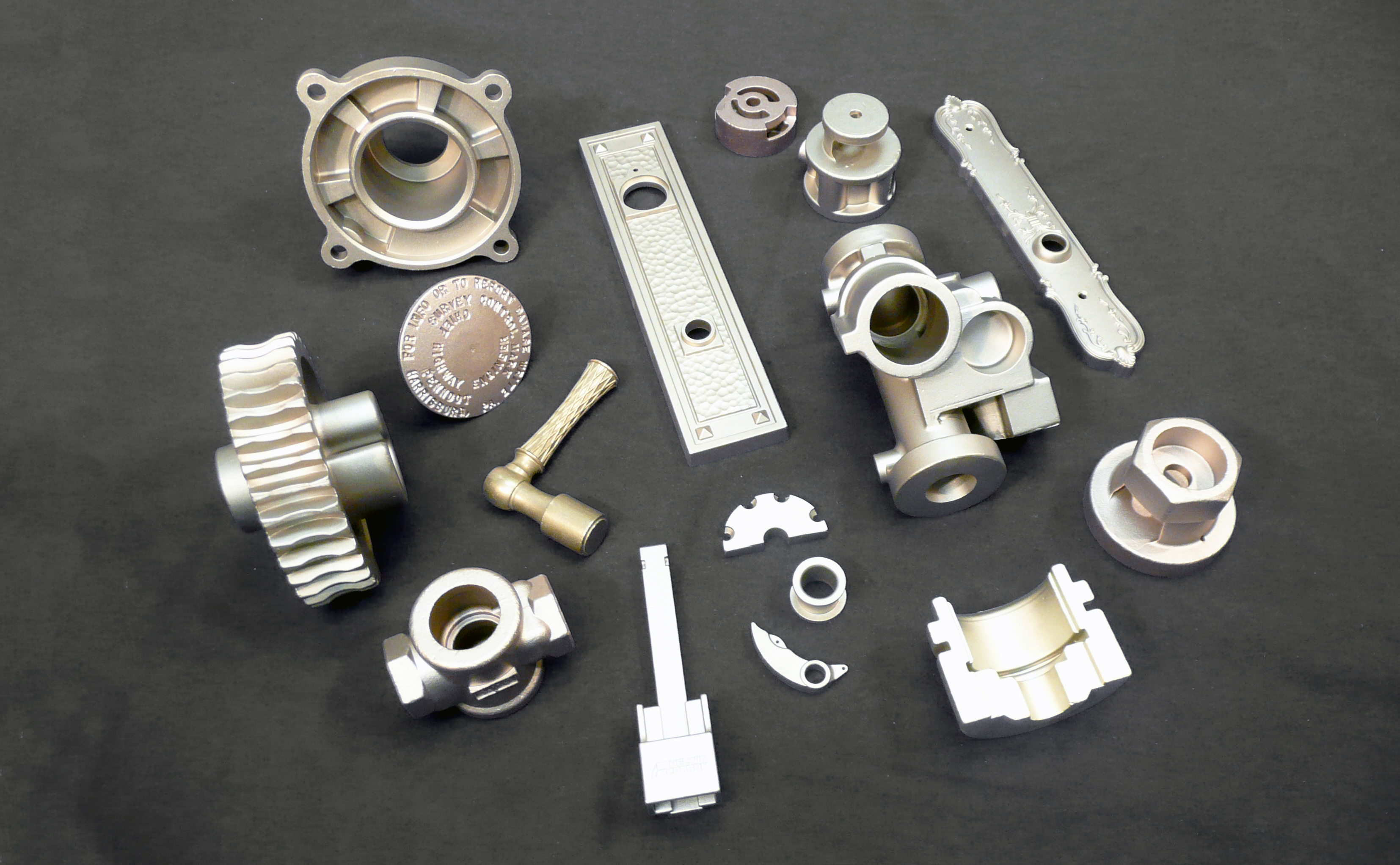 Franklin Bronze Investment Cast Parts