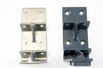Trough Mounting Bracket - Investment casting vs. Welding